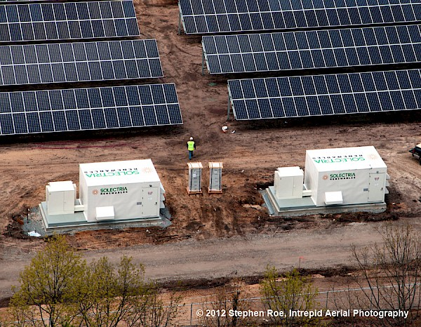 Solectria Renewables Powers The Largest Solar Farm In New