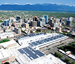 Solectria Renewables Powers the Largest Rooftop Installation in the State of Utah