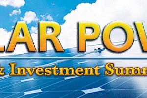 Exhibitor: Infocast Solar Power Finance & Investment Summit 2015 - Booth #25