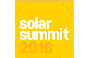 Exhibitor/Sponsor: GreenTech Media's Solar Summit 2016
