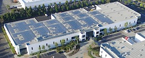 Mitsubishi Electric Solar Installation Energizes U.S. Headquarters with Yaskawa Inverters