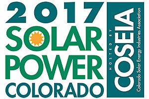 Sponsor/Exhibitor/Training: Solar Power Colorado 2017 - Booth #330