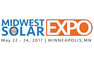 Exhibitor/Sponsor/Training: Midwest Solar Expo 2017 - Booth #13