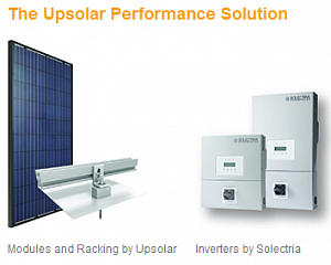 Solectria Renewables and Upsolar Collaborate to Offer Finance and Technology Package